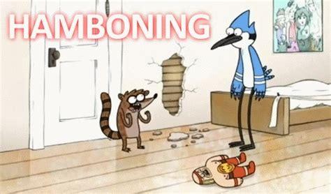 regular show rigby hamboning hamboning on tumblr