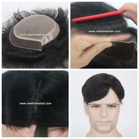latest hair replacement 2015 lws014 silk top men s hair replacement