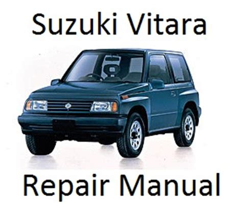 service manual [vehicle repair manual 1998 suzuki sidekick