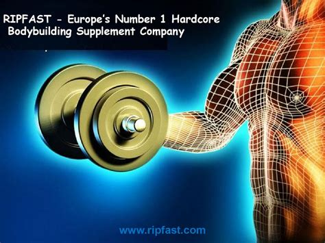 1 supplement company ripfast europe s number 1 bodybuilding