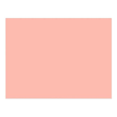 peach color light peach color only nothing but color designs postcard