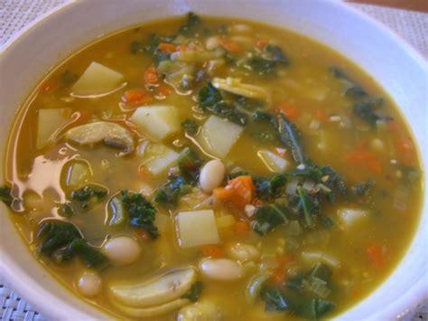 potato white bean kale soup