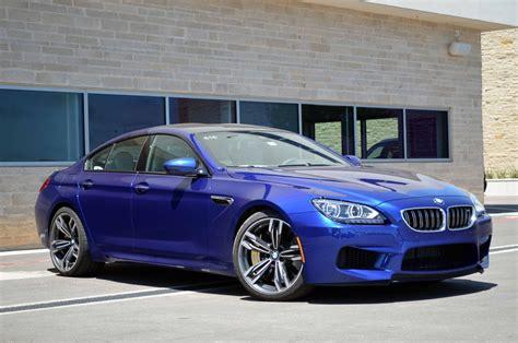2014 bmw m6 gran coupe blue topismag