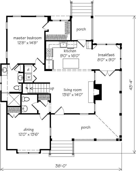 southern cottage floor plans 131 best home plans images on pinterest