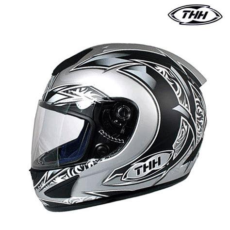 Ts Tribal helma thh ts 41 tribal silver thh helmets darkbiker cz