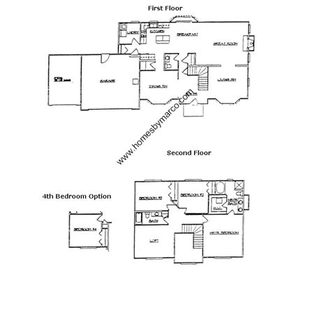 brookfield homes floor plans brookfield model in the riverbend west subdivision in belvidere illinois homes by marco