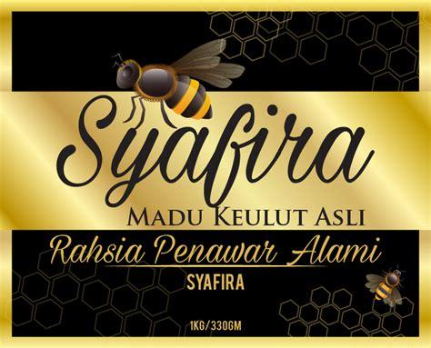 stickiz blog contoh design sticker  madu lebah