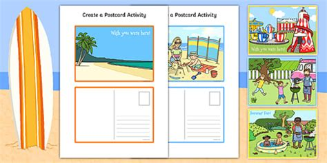 post card template twinkl create a postcard activity postcard postcard design