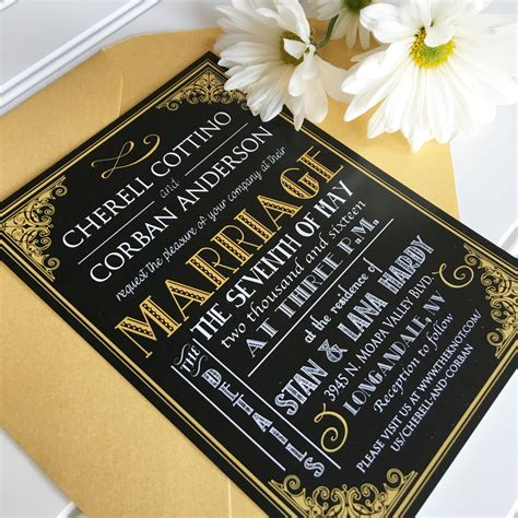 Wedding Invitations Gatsby by Fearsome Great Gatsby Wedding Invitations Theruntime