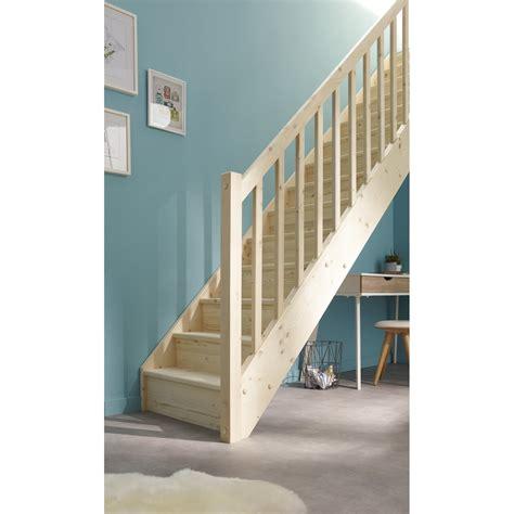 escalier droit leroy merlin 1146 escalier droit deva structure bois marche bois leroy merlin