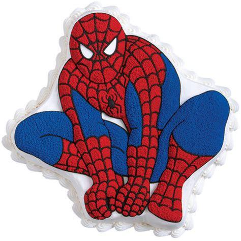 spider man cake wilton