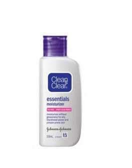 Harga Clean And Clear Essentials Moisturizer buy clean clear moisturizer essentials 100 ml