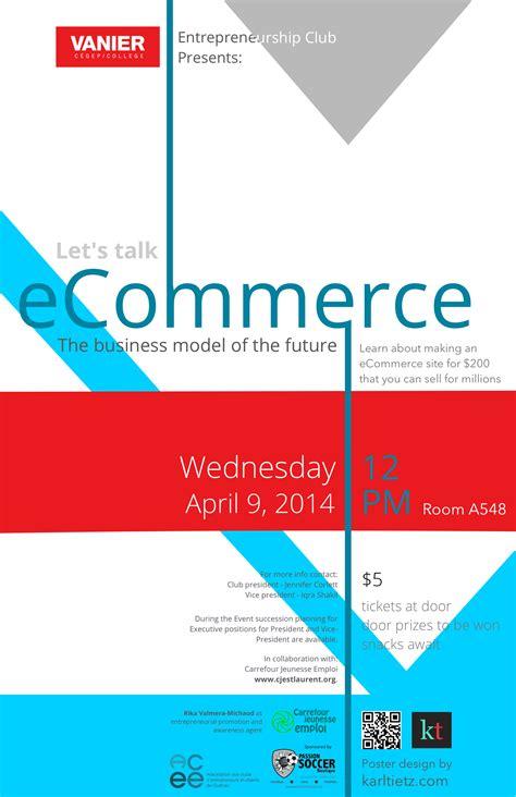 design poster website poster design for ecommerce event karl tietz web services