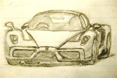 enzo sketch enzo sketch cars background wallpapers