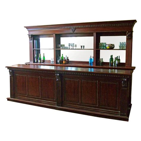 mahogany front and back bar 3 6m andy thornton