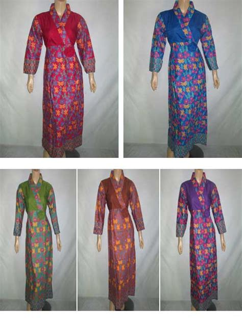 Gamis Batik Marsanda gamis batik nizham 01 pusat grosir batik toko