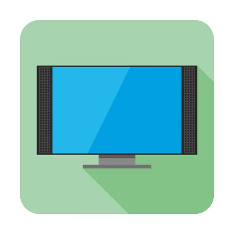 Free Online Home Design 3d vector for free use flat tv icon