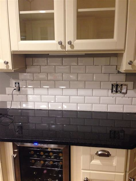 Stick On Backsplash Tiles For Kitchen what grout color to use help pls