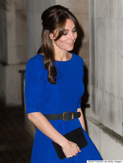 duchess of cambridge duchess of cambridge steps out in stunning blue dress and