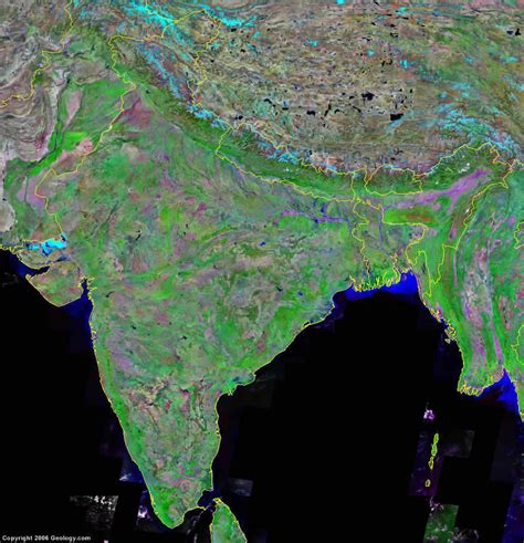 satellite map live india map and satellite image