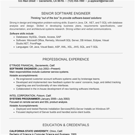 lead software engineer resume samples visualcv resume samples database