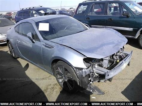 nissan brz for sale damaged salvage accidental nissan brz limited car for sale