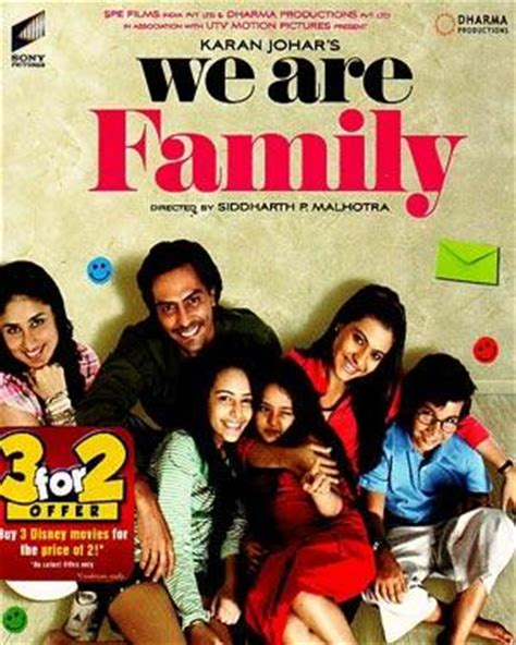 film india we are family buy hindi movie we are family vcd