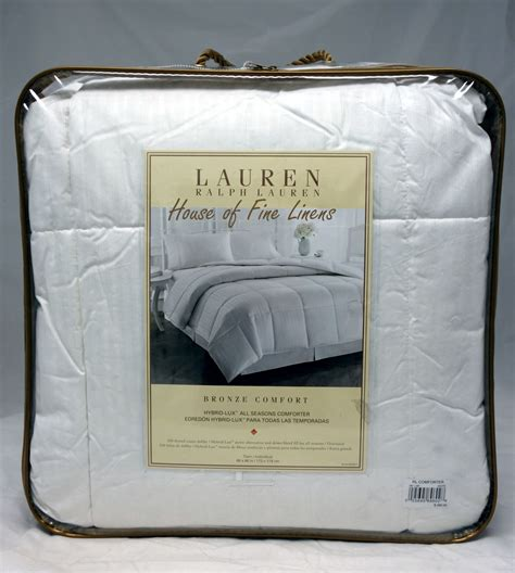 down comforter ralph lauren ralph lauren bronze comfort white down blended all season