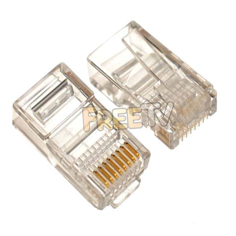 Cat 6 Rj 45 Connector By buy cat6 rj45 ethernet cable connectors in ireland