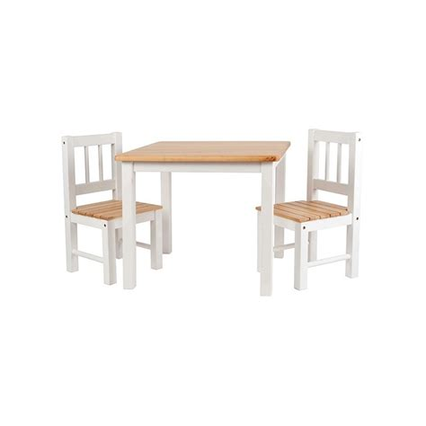 mesa con sillas infantiles mesa infantil con sillas en madera blanca