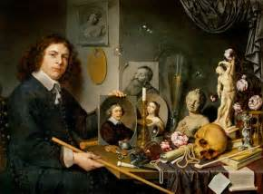 vanit 233 autoportrait avec nature morte tableau de david