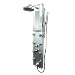 Shower Tower Kokols Wf 7012 Aluminum Shower Tower Panel With 8 Nozzles