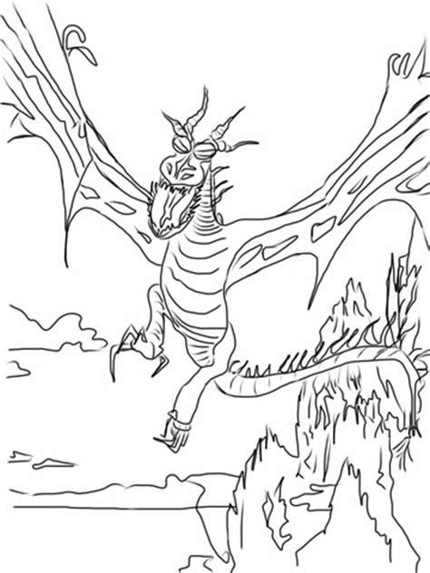 dibujos para pintar de c mo entrenar a tu drag n ausmalbild ein nachtschatten fliegt durch die nacht