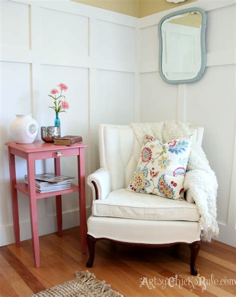 Reading Nook Chair Thrifty Chair Makeover Sloan Chalk Paint