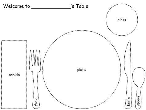 how to set the table for learn thru play some ways to teach your child how to