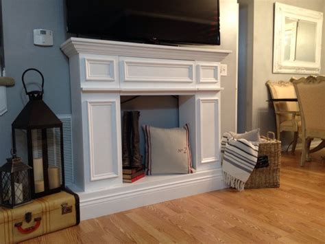 hometalk it til you make it a faux fireplace