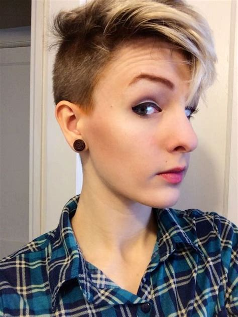 pixie haircut with shaved sides 621 best images about pixie cuts on pinterest short