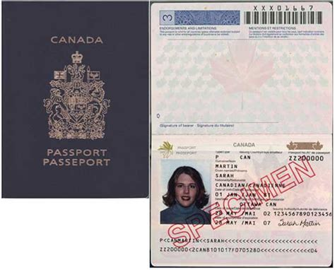 canadian passport template visa updates how to check for visas
