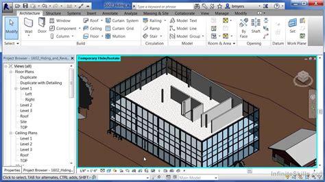tutorial autodesk revit architecture autodesk revit architecture 2014 tutorial hiding and