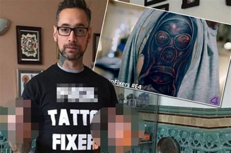tattoo fixers glen f tattoo fixers caign launched by professional