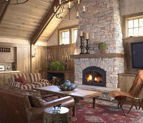 Fireplace Ideas With Stone 40 Stone Fireplace Designs From Classic To Contemporary Spaces