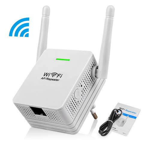 Modem Wifi Jumper wireless repeater 300mbps network router wifi signal range extender booster dual 2 db antennas