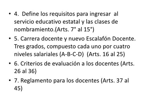 requisitos ascenso a la 14 escalafon docente 2277 2016 legislacion vigente