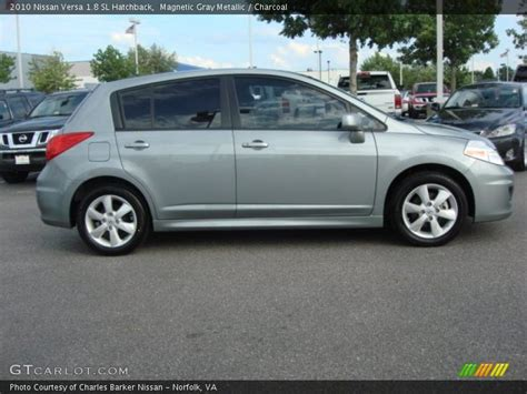 grey nissan versa hatchback 2010 nissan versa 1 8 sl hatchback in magnetic gray