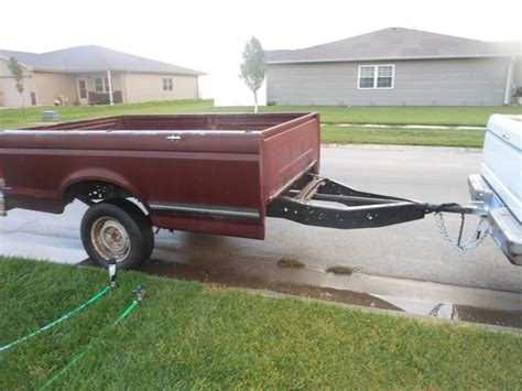 pickup bed trailer ford truck bed trailer nex tech classifieds
