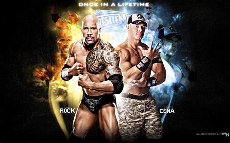Celana Vs Rok wallpapers the rock vs cena cena vs the rock 2012 cena vs rock