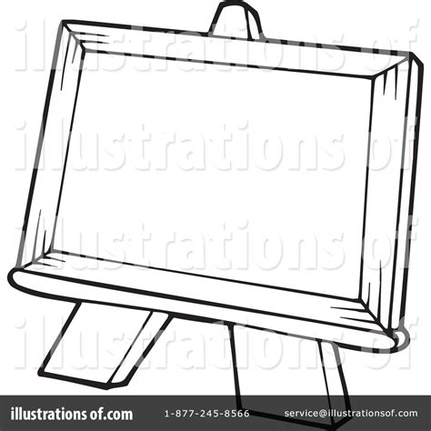 art easel coloring page easel brown clipart clipart suggest