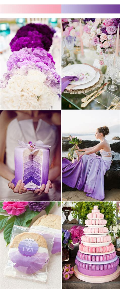 april wedding colors 2017 unique ombre wedding color ideas for 2017 spring stylish