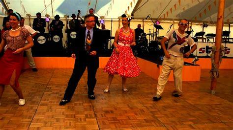 swing revival bands dancing to the regular joes swing and jive band at