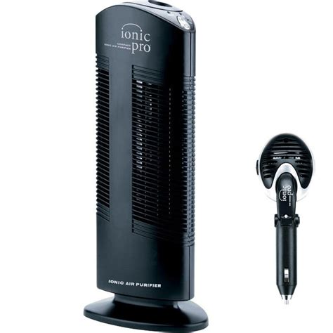 compact portable ionic pro air purifier personal mini
